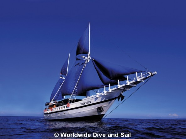 Dive Safaris and Scuba Cruises S/Y Truk Siren