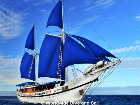 Dive Safaris and Scuba Cruises SY Fiji Siren